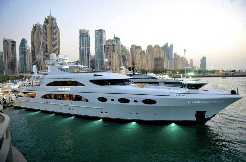 Dubai Harbour and the yachting community