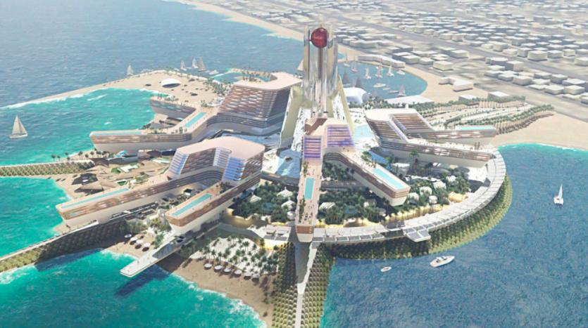 Mega resort near Burj Al Arab