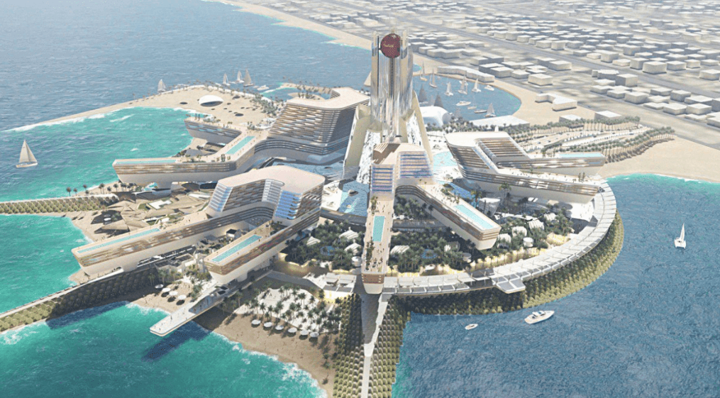 Ruler Of Dubai Unveils Huge Beachfront Resort Near Burj Al
